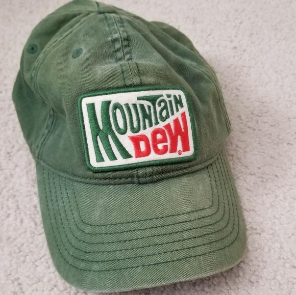 66d47b99d75 Mountain Dew vintage hat. M 5b2bc74703087c061720756e
